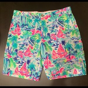 Lilly Pulitzer Mens Beaumont Shorts Size 36